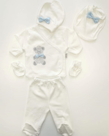 5-Delig Babygirl Diamond Bear Newborn