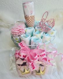 Babyshower Pamper Gift Taart