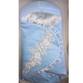 Luxurious Baby Boutique Enveloppe {Blauw}