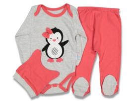 3-Delige Pinguin Babyset