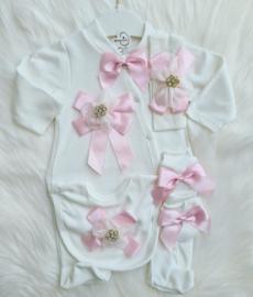 Luxury Babygirl Diamond Bow Giftset