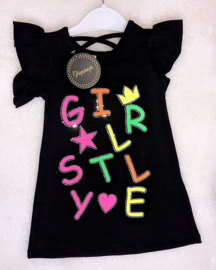 Trendy GirlDress Black