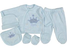 5-Delige Newborn Prince Set