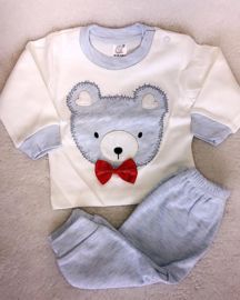 Bear Cute Gentleman BabyBlue