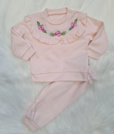 Baby Pink Joggerset { NEW COLLECTION}