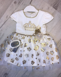 Queen Golden Dress {New Collection}