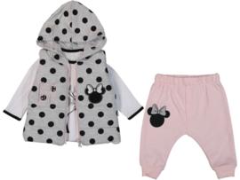Trendy Girly Minnie Set + Bodywarmer
