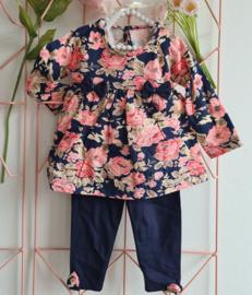 Boutique Flower Tunique Set