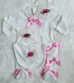 Luxury Babygirl Giftset Flower 3-D