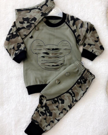 Stoere Leger Jogger Set {Limited Edition}