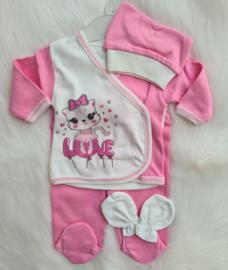 5-Delige Newborn Kraam set