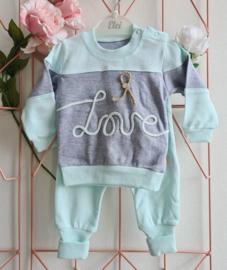 Love Babygirl Jogger Handmade