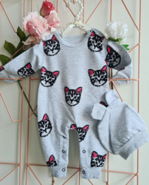 Trendy Jumpsuit Baby Cat