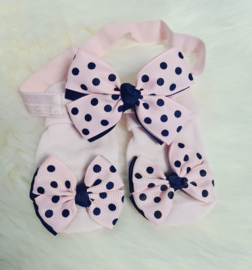 Luxe Bow Sokjes + Haar Accessoire GiftBag