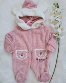 Fluffy Bear Wintersuit