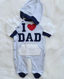 Trendy I Love Dad Suit
