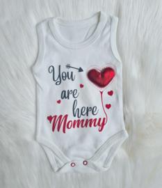 Love Mommy 3-D Heart