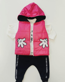 Trendy Girly Set + Gratis Bodywarmer