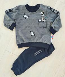 Baby Panda Jogger Set