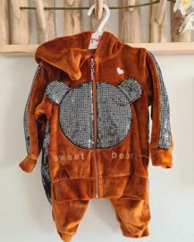 Trendy Fashion Fluweel Bear