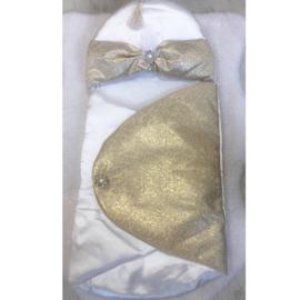 HandMade Gold Baby WikkelEnveloppe