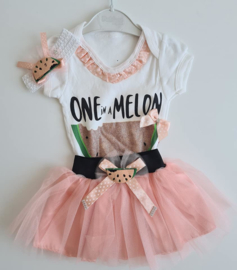 Party Baby Melon Tutu Set