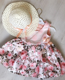 Luxurious Flower Boutique Dress