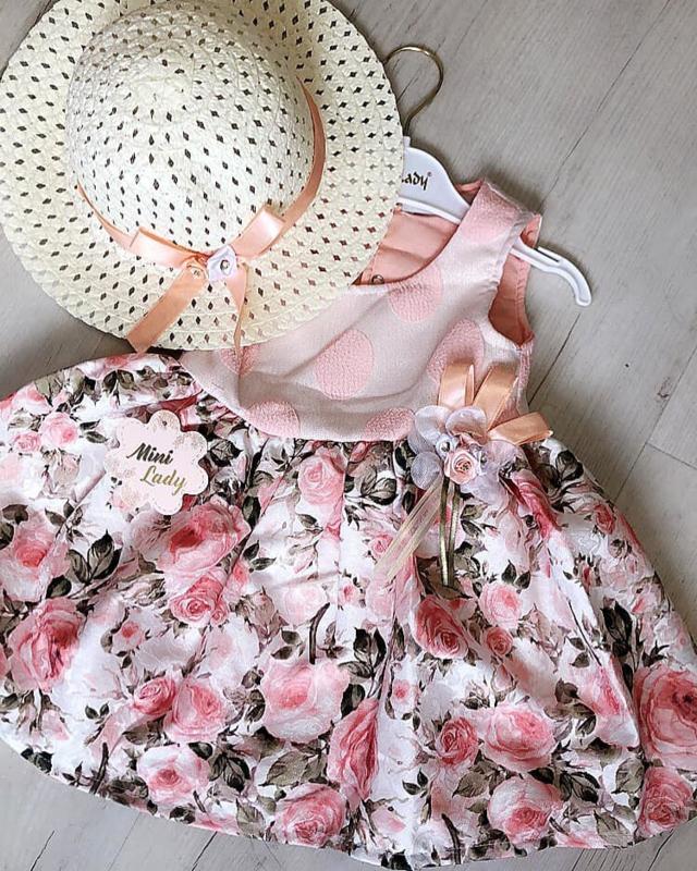 Luxurious Flower Boutique Dress