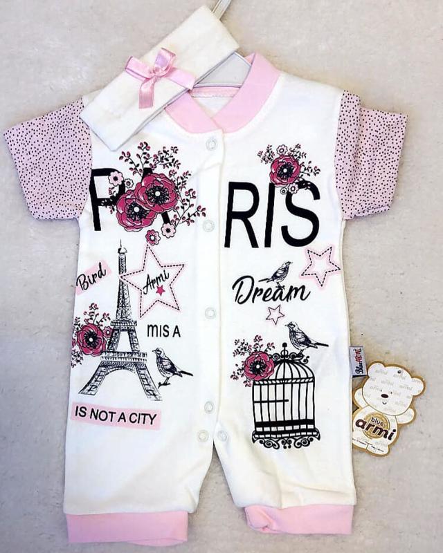 Baby Summer Paris + Gratis Hoofdbandje