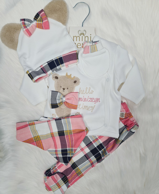 Bear Fluffy Princess Newborn