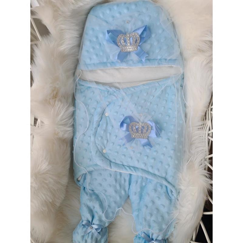 Prince Luxury Baby Enveloppe {Handmade}