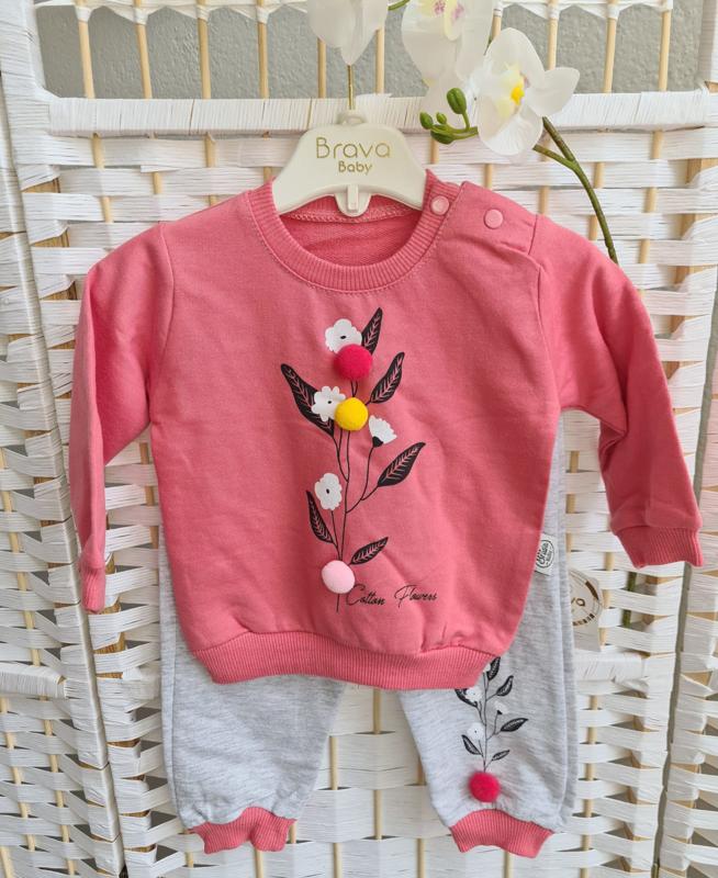 Cotton Flower Jogger