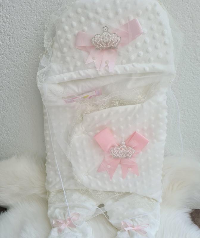 Princess Luxury Baby Enveloppe {Handmade}