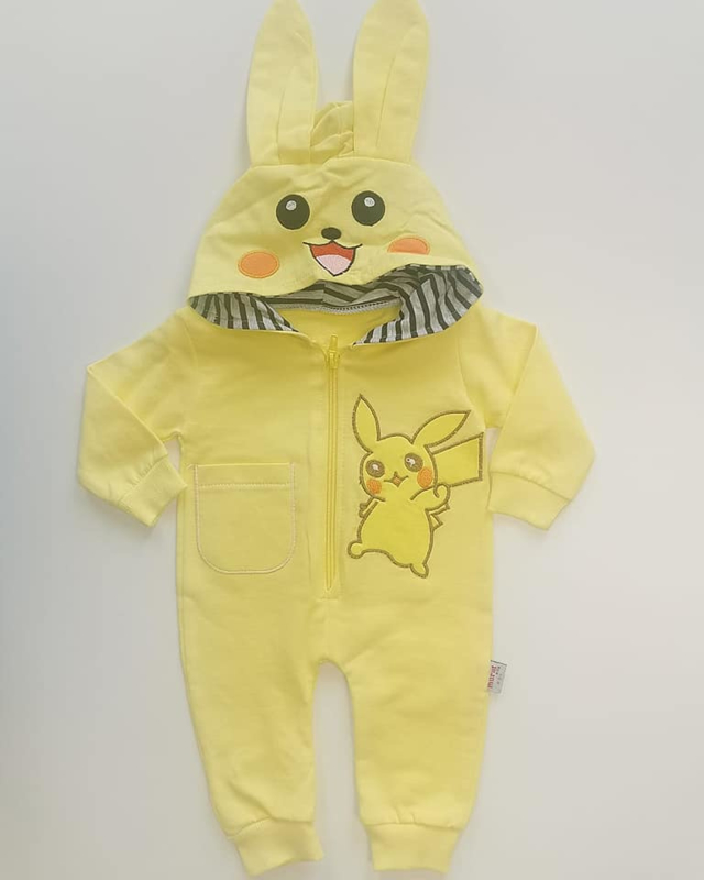 Unieke Pikachu Jumpsuit