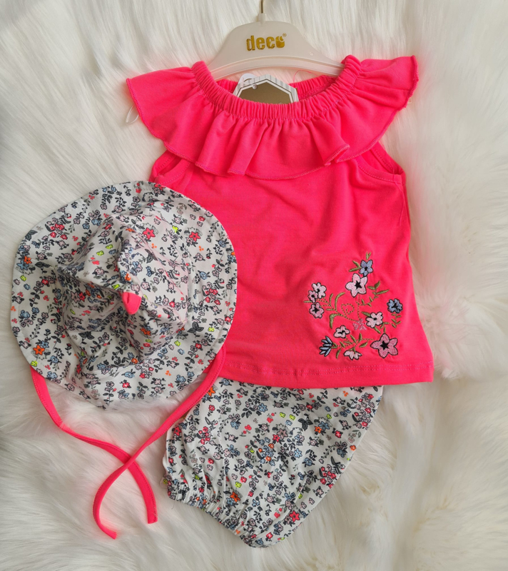 Boutique Pinky Flower
