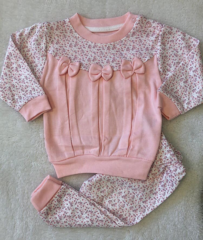 Fashion Jogger Pink Bow