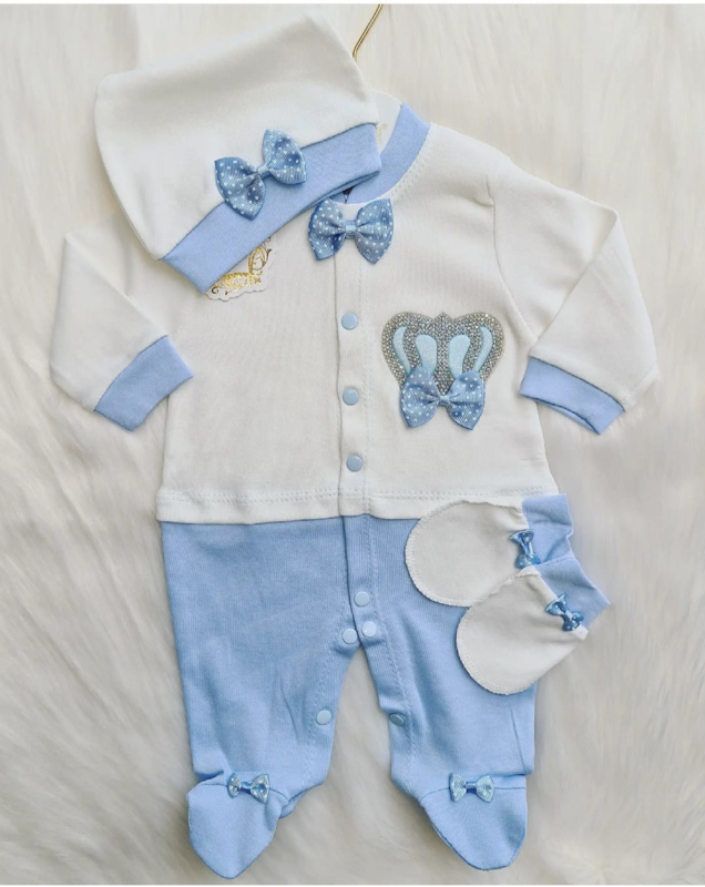 Baby Blue Crown {Limited Edition}