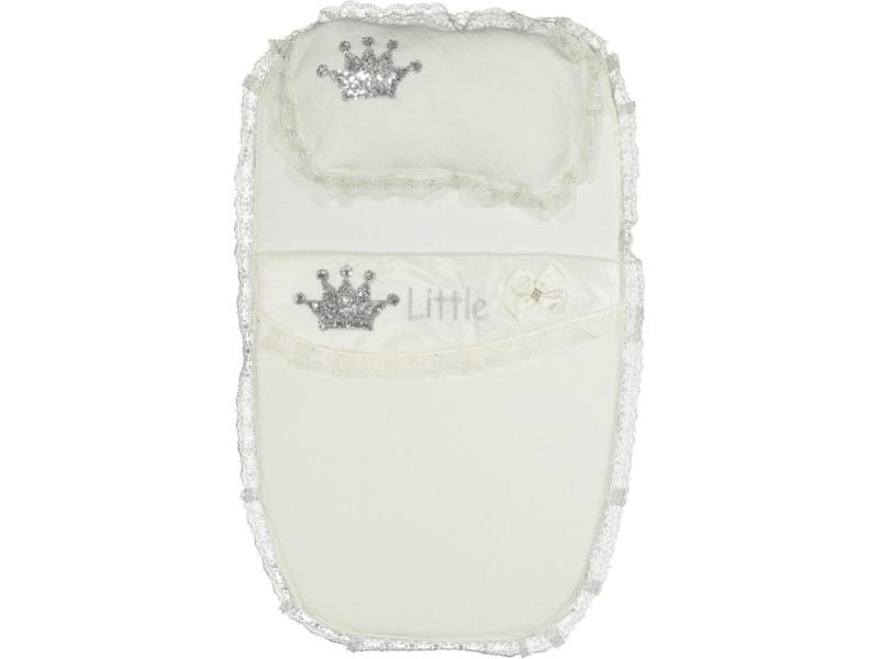 Baby Slaapzak Crown Wit {Limited Edition}