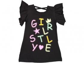 Trendy GirlDress Black