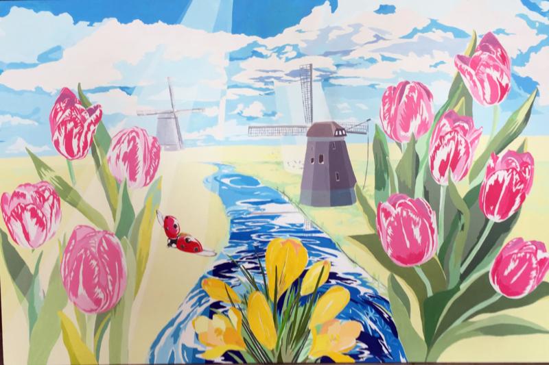 Art route 2018 in Leeuwarden