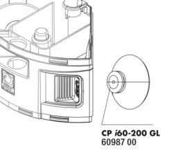 JBL Cristalprofi i60-200 zuignappen 2 stuks