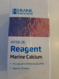 Hanna Reagentia calcium zeewater HI758-26