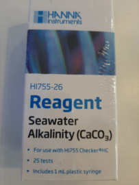 Hanna Reagentia Alkaniteit zeewater HI755-26