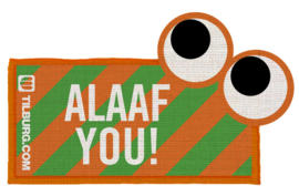Strijkembleem - Alaaf you!