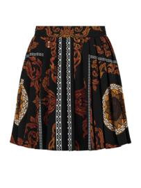 Nikkie Sahara skirt black/gold/white