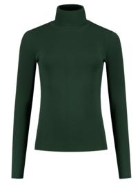 Nikkie Jolie turtle top forrest green