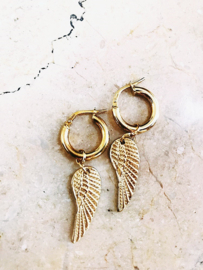 Mini creollas angel wings