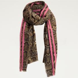 My Jewellery sjaal met slangenprint