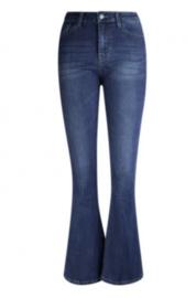 Jeans Daan met flared pijpen blauw