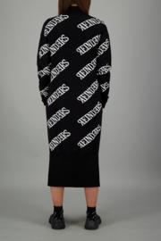 Reinders dress all over print black